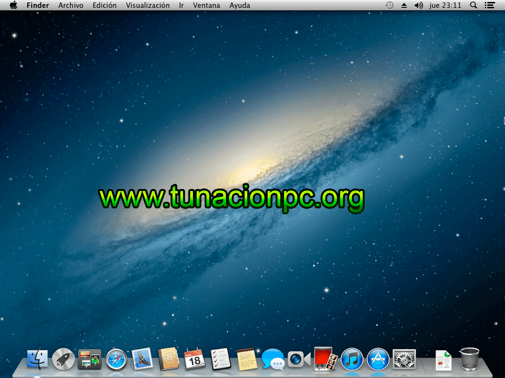 Mac OS X Mountain Lion v10.8