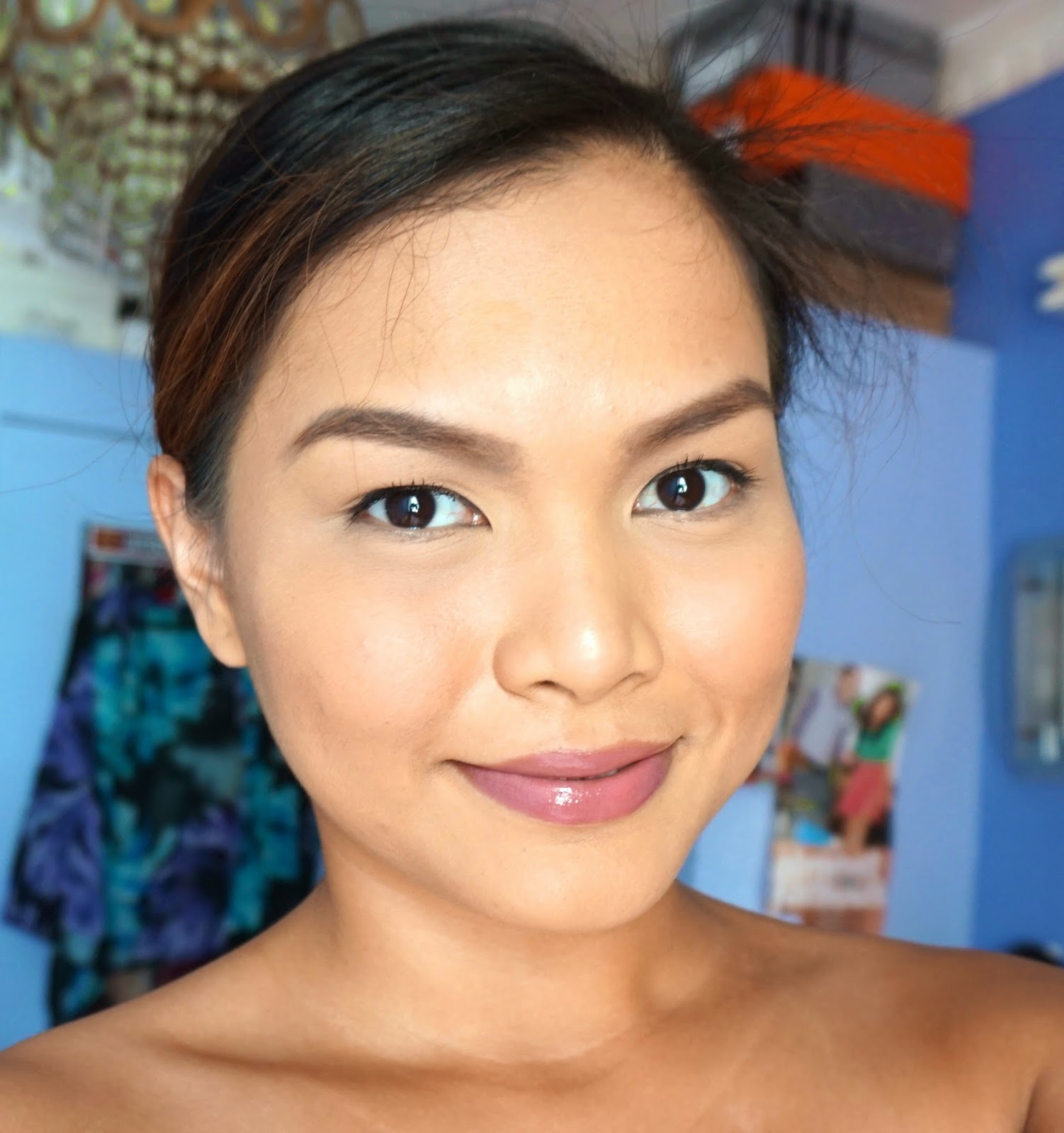 make up for ever aqua rouge in natural rosewood review swatches the beauty junkee. Black Bedroom Furniture Sets. Home Design Ideas