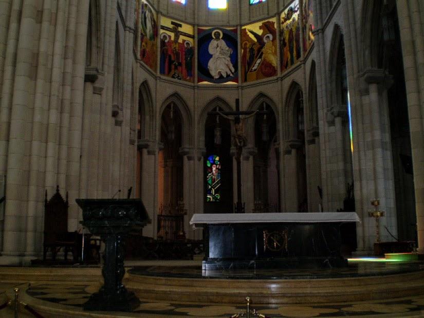 Catedral de Almudena - Madri - Espanha