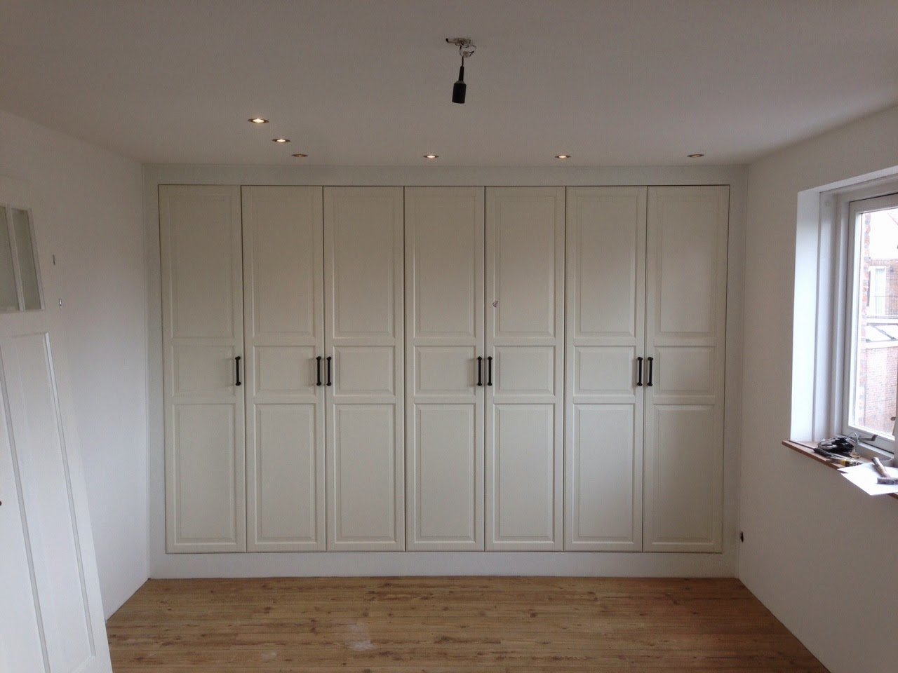 Fully Functional Ikea Fitted Wardrobe For Sloping Ceiling Ikea