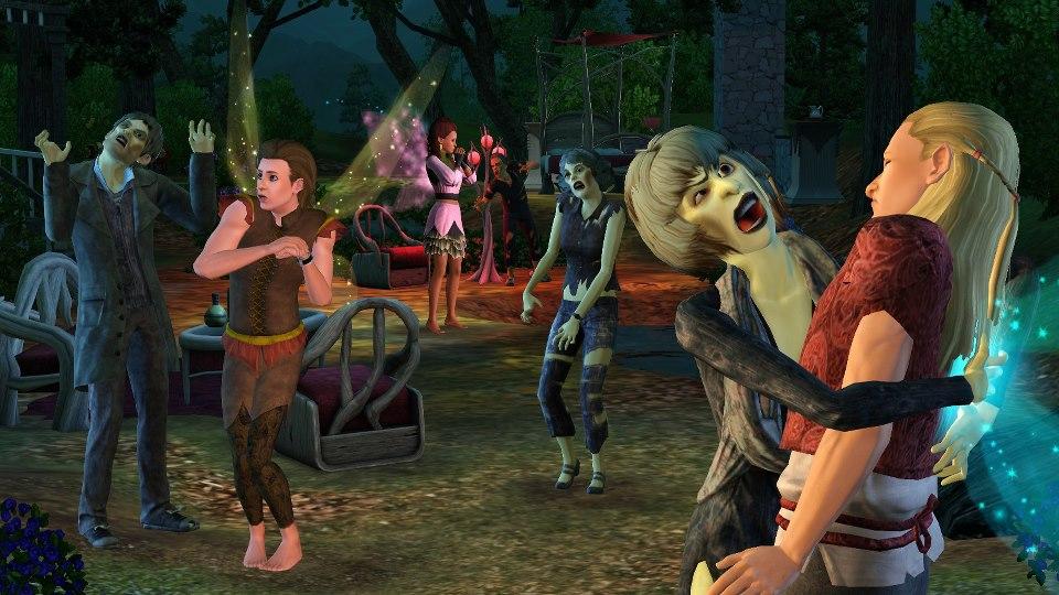 mini imagem para the sims 3 sobrenatural