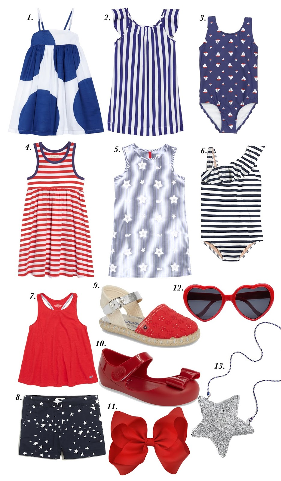 July 4th Outfit Inspiration for Kids - Something Delightful Blog