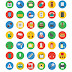 1500 icons em vetor download free