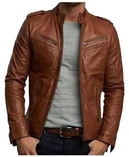 gambar jacket kulit pria