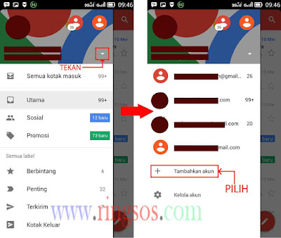 Cara Membuat Email Gmail Lewat Hp Android, Gampang!!