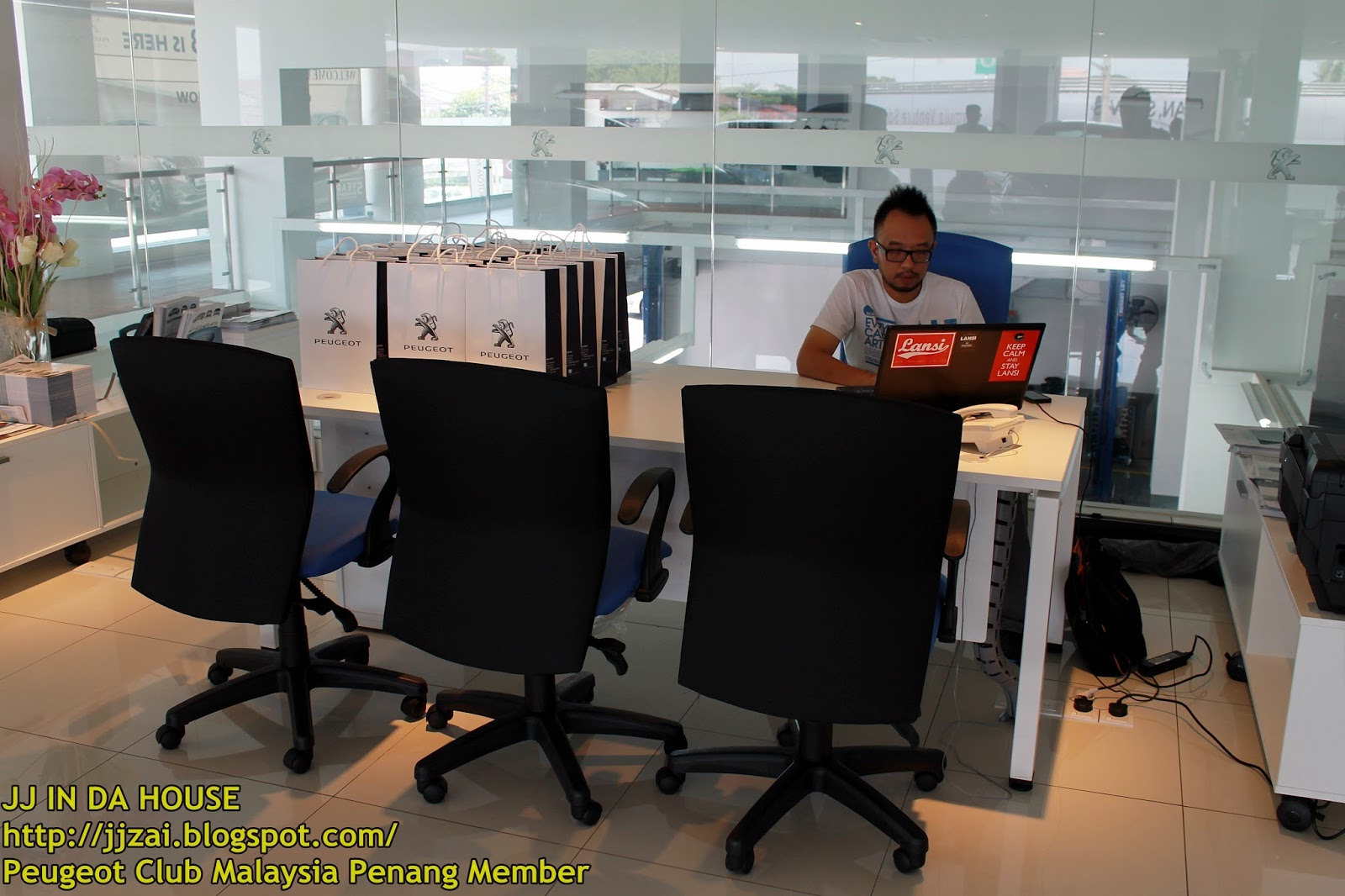office chair penang low profile camping chairs jj in da house peugeot club malaysia member cs euro auto sdn bhd
