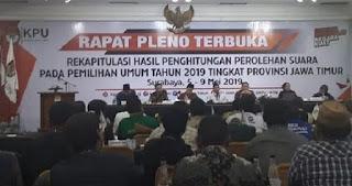 Banyak Kejanggalan Rekapitulasi Suara di Jatim, Begini Sikap Saksi Prabowo-Sandi