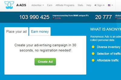 Cara Mendapatkan Bitcoin Dengan Menjadi Publisher Di Anonymous ADS