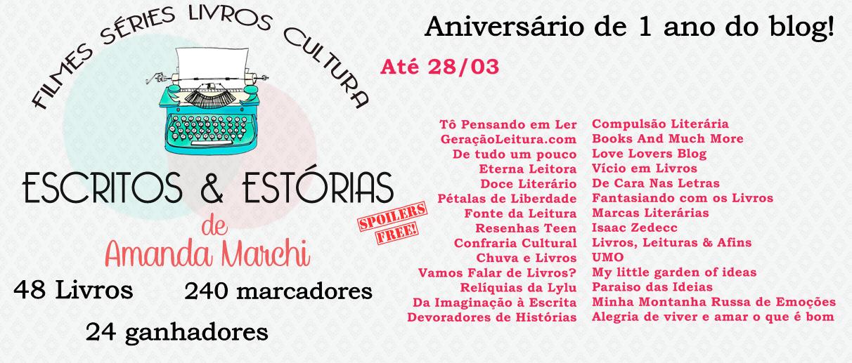[Promoção] Aniversário de 1 Ano Escritos e Estórias.