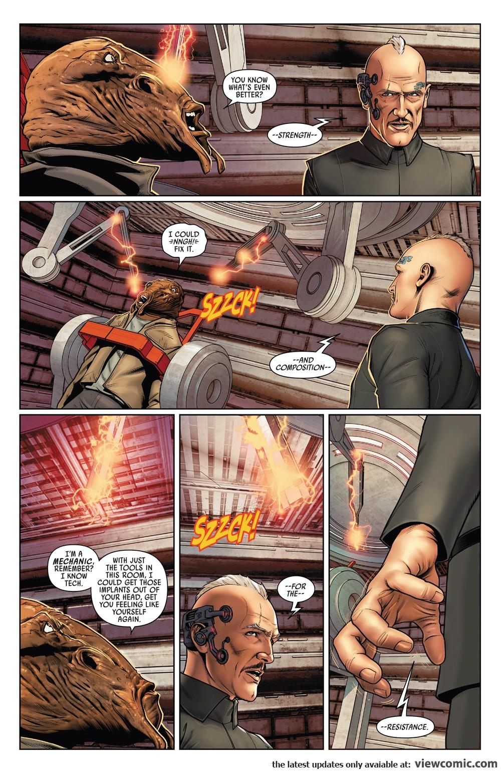 Poe Dameron 018 (2017)  | Vietcomic.net reading comics online for free