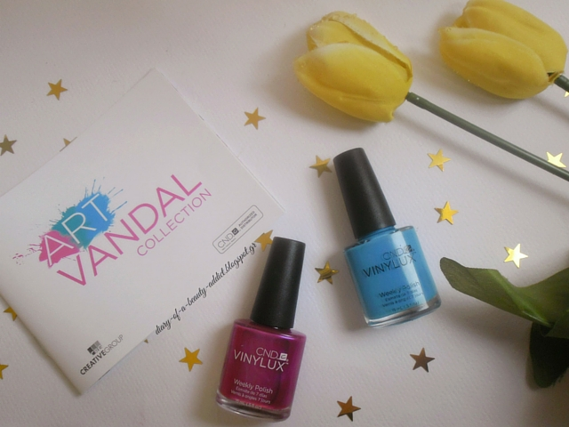 CND Art Vandal Collection ▏Spring 2016 : Magenta Mischief & Digi-Teal.