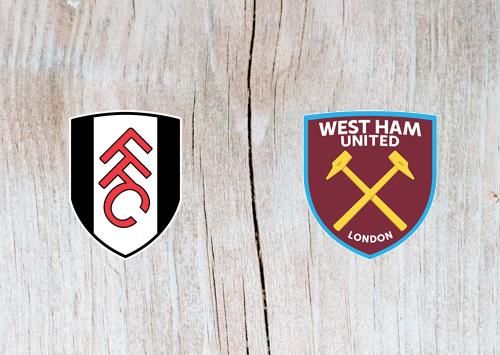 Fulham vs West Ham Full Match & Highlights 15 December 2018