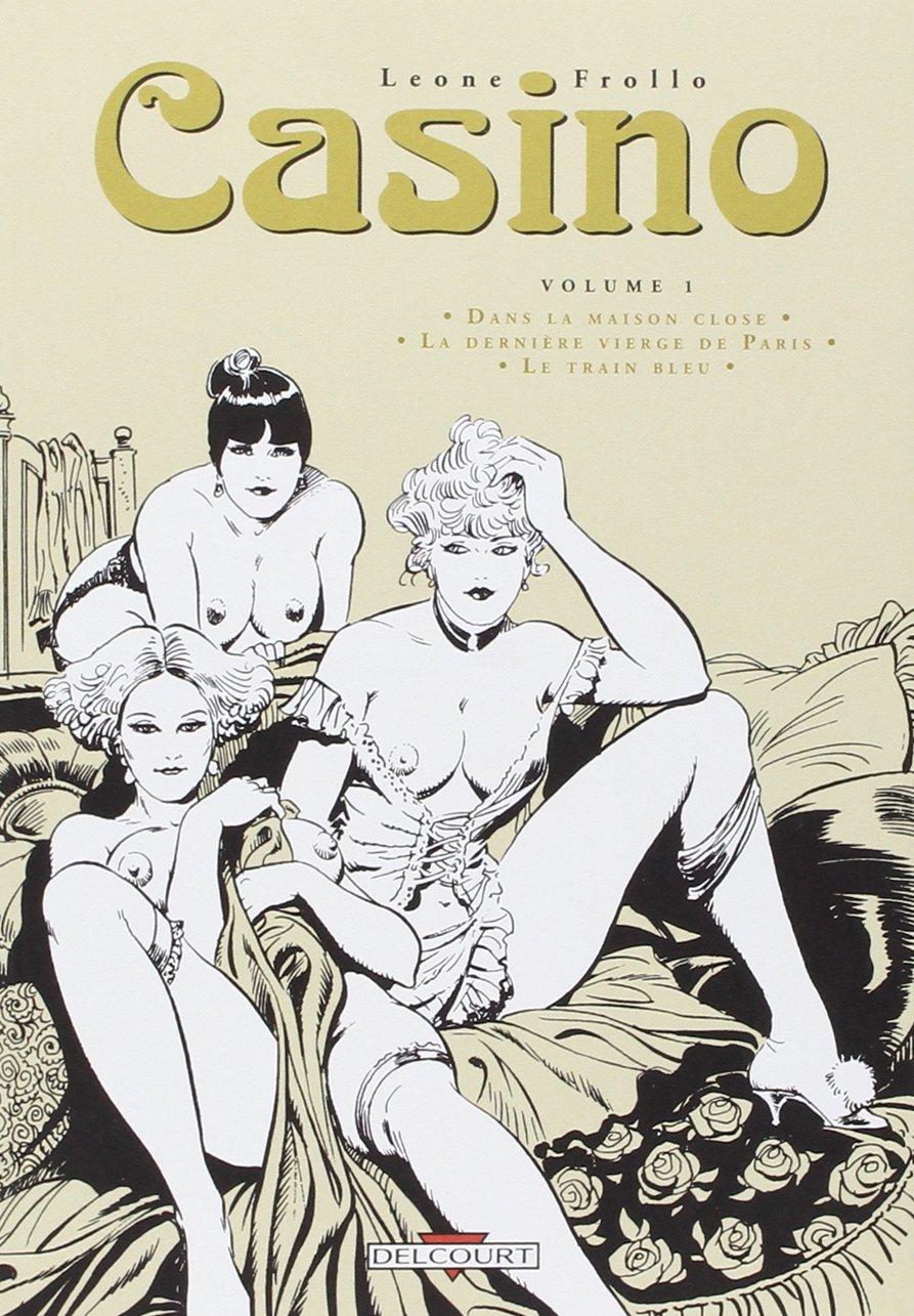 Casino, historieta erótica italiana, portada de Leone Frollo