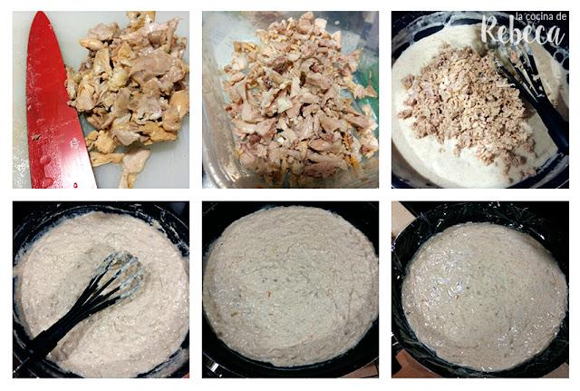 Receta de croquetas de pollo asado 02