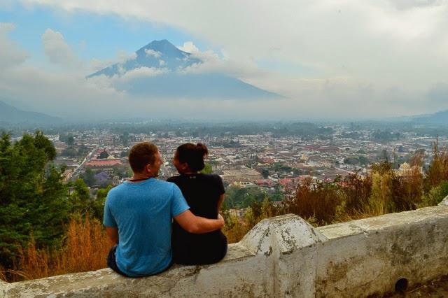 Overlooking Antigua, Guatemala
