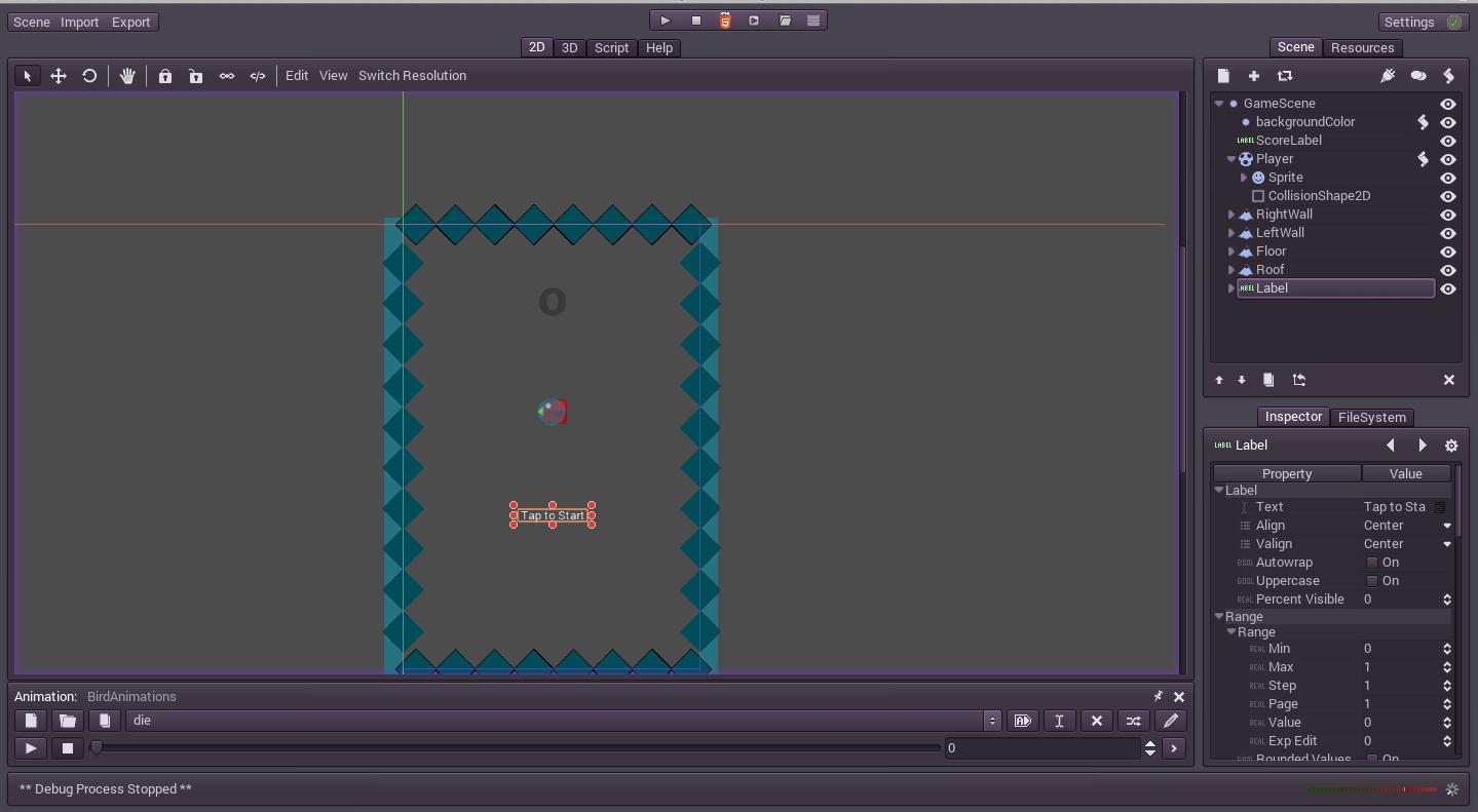 My Work: GoDot Engine