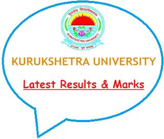 Kurukshetra University Results May June 2020