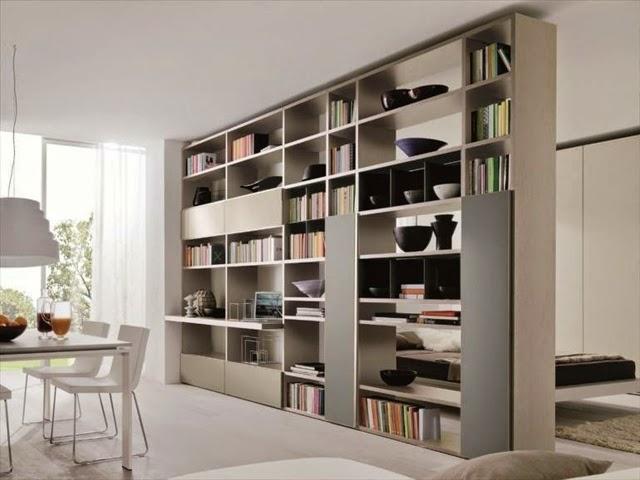 Living room bookshelves and shelving units - 20 Elegant ideas