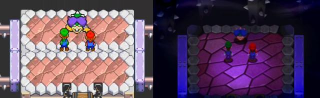 Ludwig Von Koopa green shell vs blue shell Mario & Luigi Superstar Saga + Bowser's Minions Koopaling redesign
