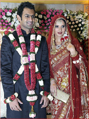 shoaib-malik-and-sania-mirza-barat -picture