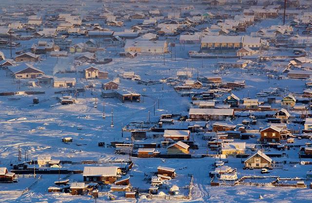 Οϊμιακόν: Το πιο κρύο κατοικήσιμο μέρος του πλανήτη - Η θερμοκρασία φτάνει τους -55° Κελσίου (βίντεο)