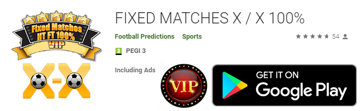Download fixed match app