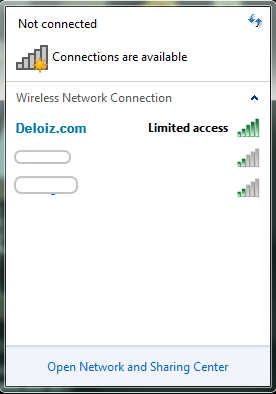 Limited Access WiFi