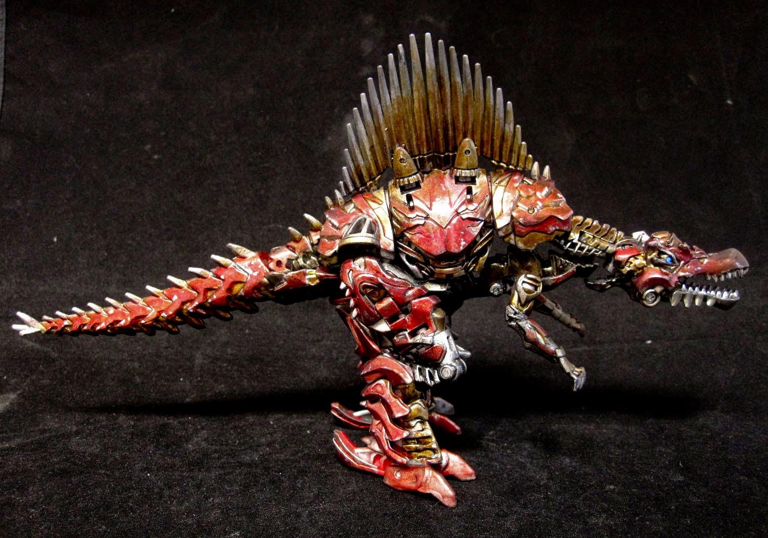 Transformers age of extinction dinobots custom grimlock ...