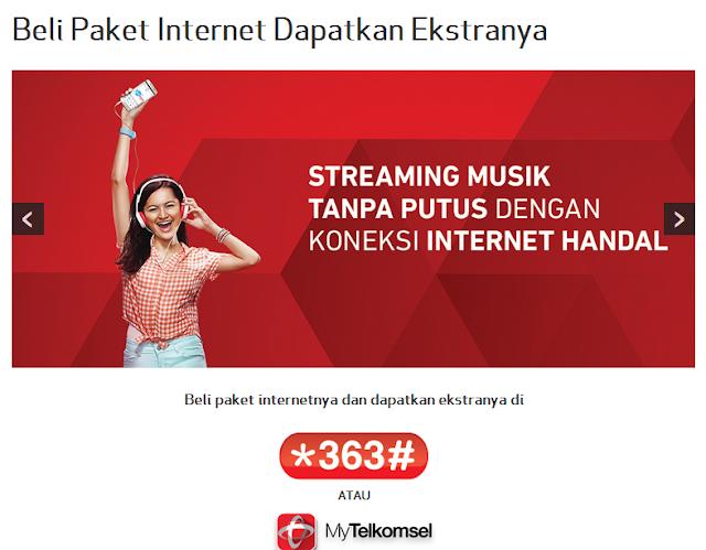 Paket Internet murah terbaru