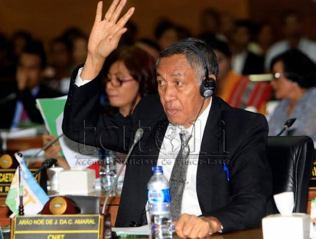 Deputadu Arão Noé Eleitu ba Prezidente PN Lejizlatura Dalimak