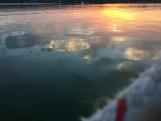 Sonnenuntergang auf dem Ammersee