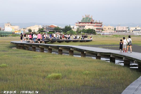高美濕地生態木棧道