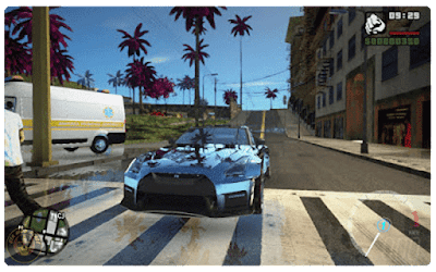 San Andreas Pink City graphics download mod