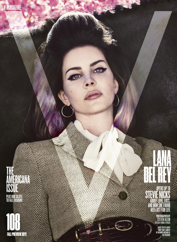 Lana Del Rey features on the V Magazine Fall Preview 2017
