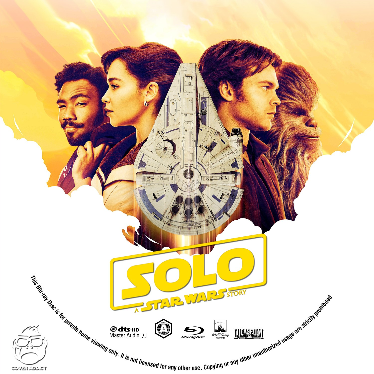 300 Full Movie >> Solo: A Star Wars Story Bluray Label - Cover Addict - DVD and Bluray Covers