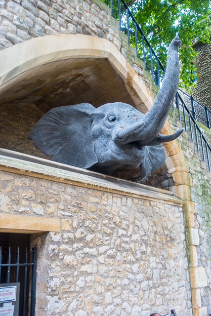 Animal Statues at  Tower of London - London, England