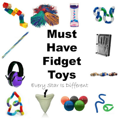 Must have fidget toys for kids with special needs.