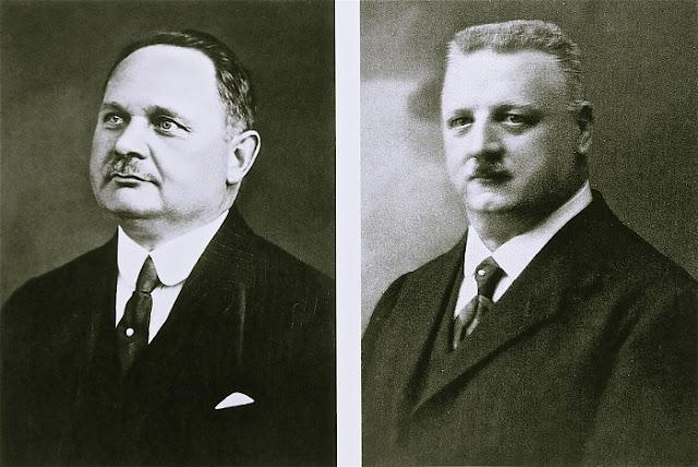 2 nhân vật thành lập hãng đồng hồ Oris: Cattin và Georges Christian