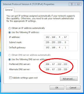 Cara Hack Server DNS Untuk Mendapatkan Kecepatan Internet Lebih Cepat