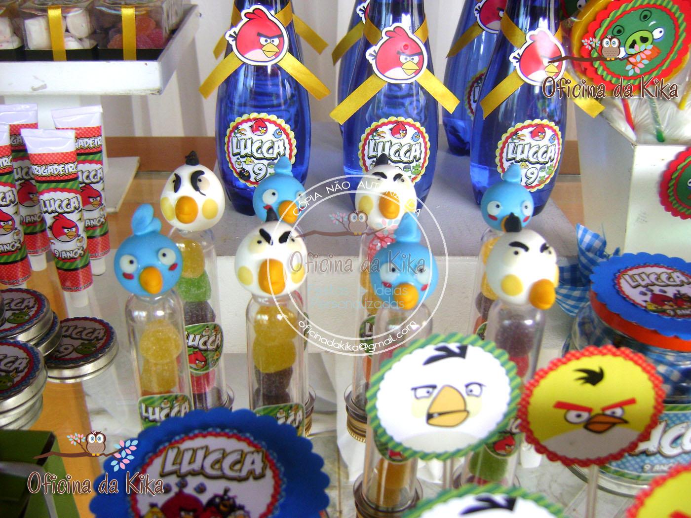Colorido Angry Birds Personagens Vector: Festas E Idéias Personalizadas: Festa