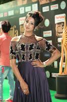 Sanjjanaa Galrani aka Archana Galrani in Maroon Gown beautiful Pics at IIFA Utsavam Awards 2017 62.JPG