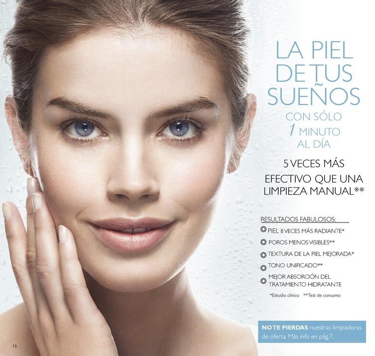 sistema limpieza facial
