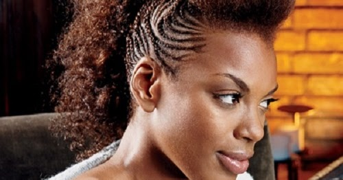 Mohawk Hairstyle Black Women