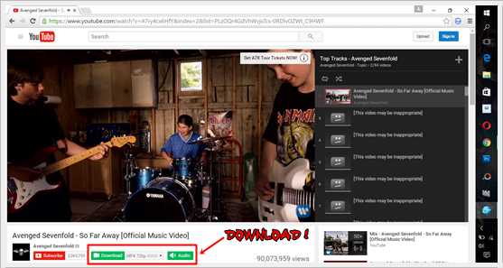 Memuat Turun Video Youtube Dengan Salam Browser