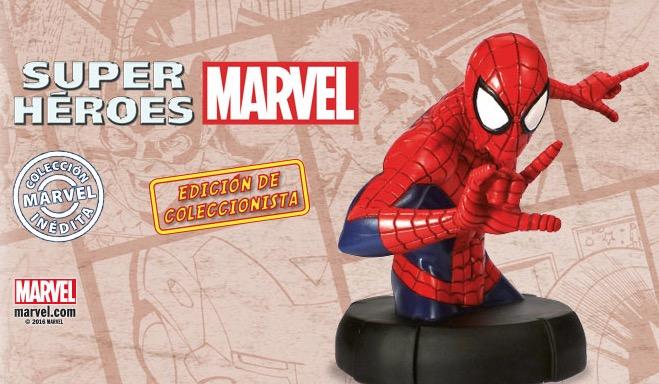 Busto Spider-Man Coleccionable Altaya