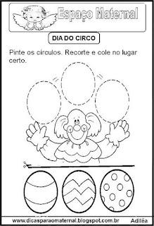 Desenho palhaço para colorir