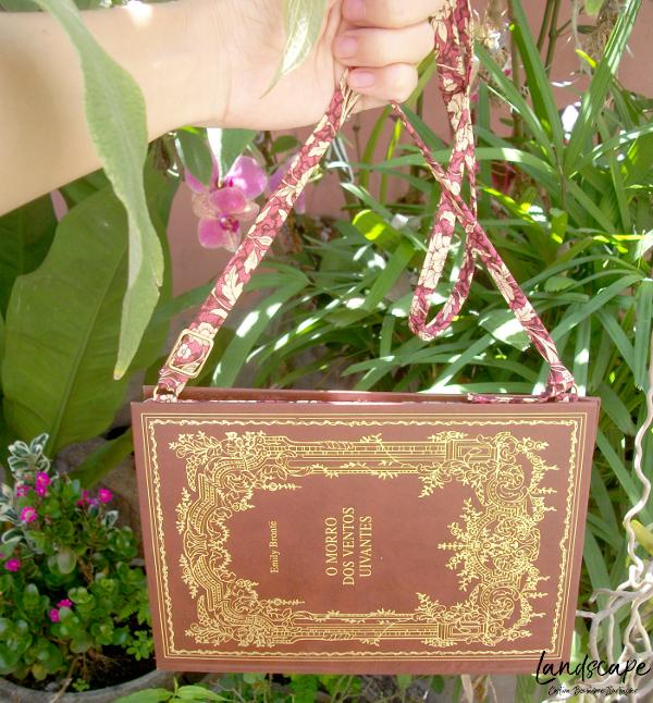 clutch de livro