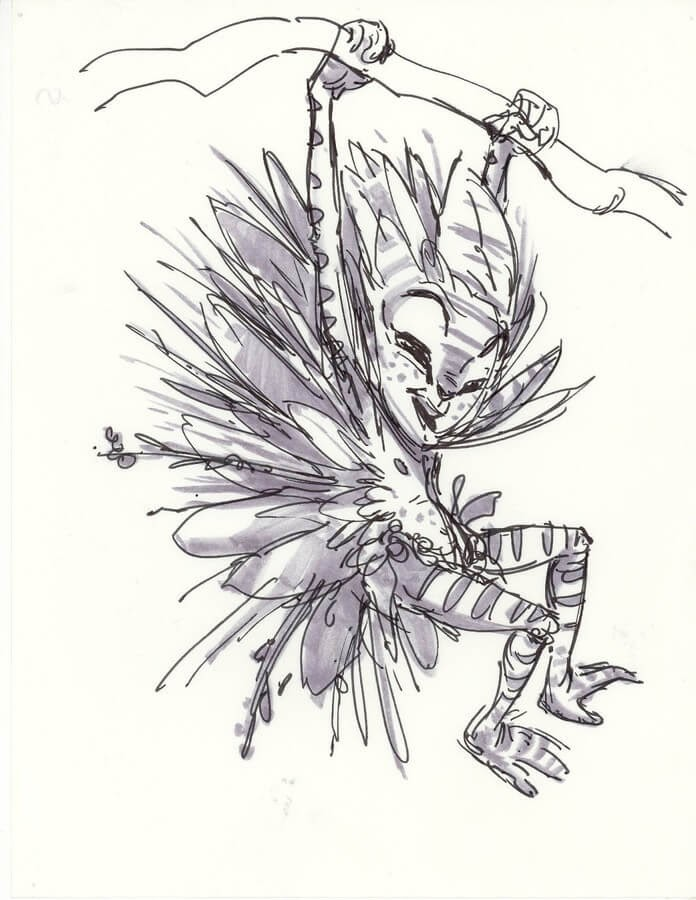 08-Aaron-Blaise-Creature-Sketches-www-designstack-co
