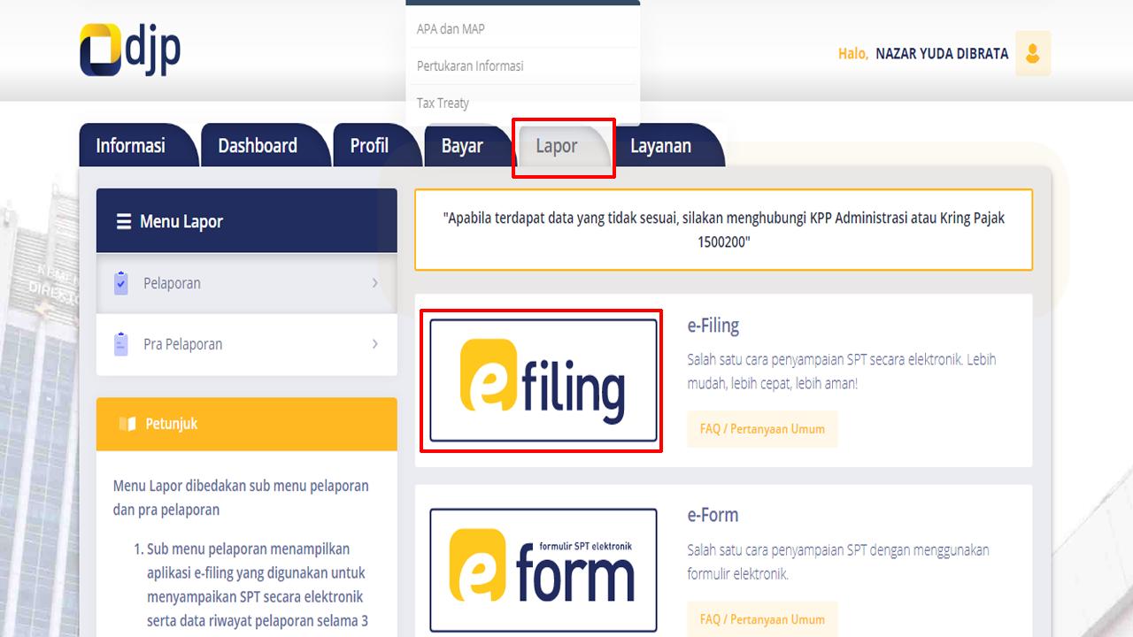 Layanan Aktivasi Kode EFIN Bisa Dilakukan Secara Online