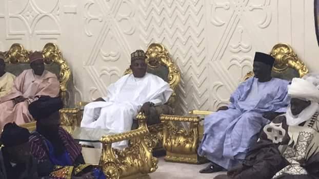 Photos: Governor Dankwambo names road after Maiduguri billionaire businessman, Alhaji Muhammadu Indimi